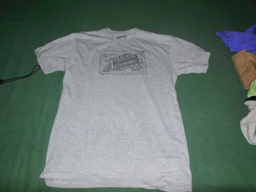 Camp t-shirt.