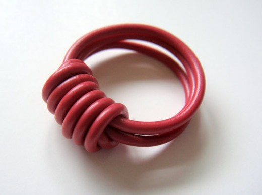 How to make a ring with electrical wire