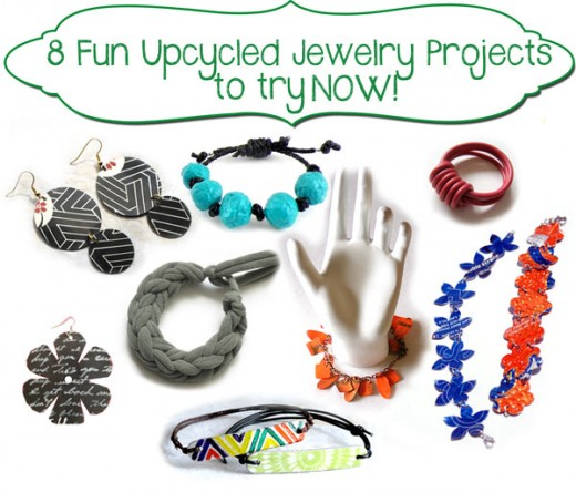 Eight Earth Friendly DIY Jewelry Projects