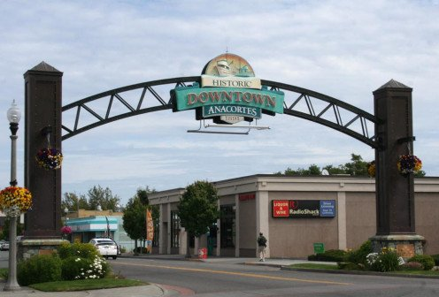 The Anacortes Archway welcomes you!