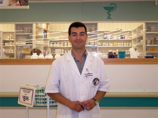 Pharmacists help you with drugs