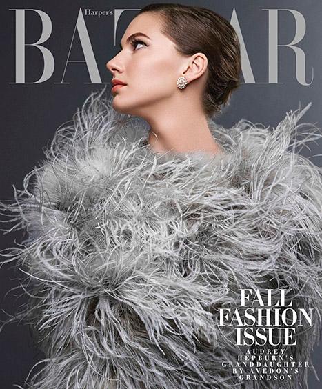 Emma Ferrer photographed by Michael Avedon for Harper's Bazaar, August 2014.