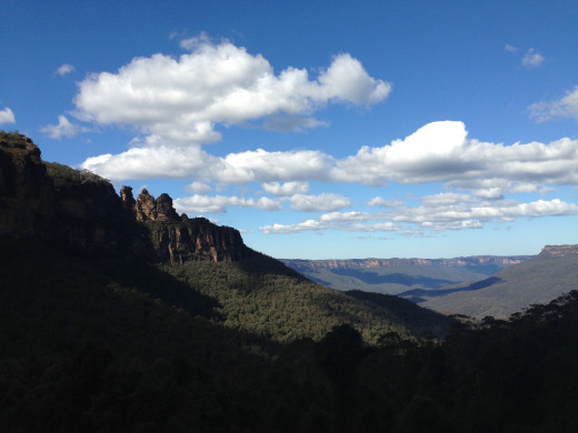 A gorgeous winter's day in the Blue Mountains