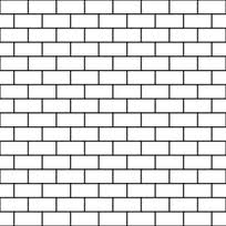 Basic brick pattern