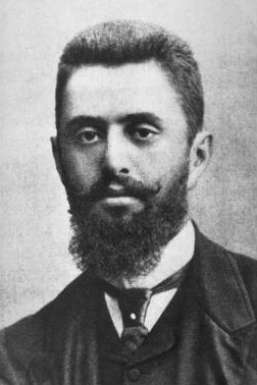 Theodor Herzl, the founder of Zionism, a movement which called for a Jewish state in the Holy Land.