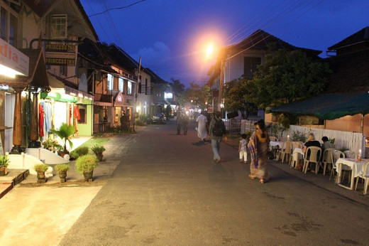 Princess Street, Fort Kochi
