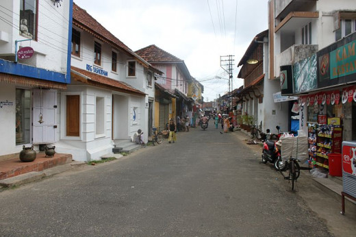 Jew Street, Mattancherry