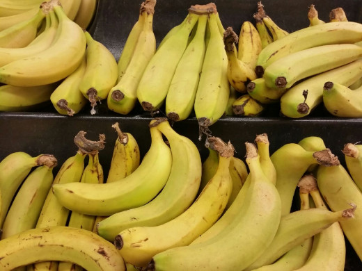 Bananas are rarely ripe when you buy them