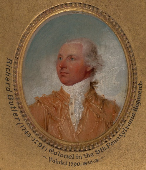 A copy of a painting of General Richard Butler from about 1790.