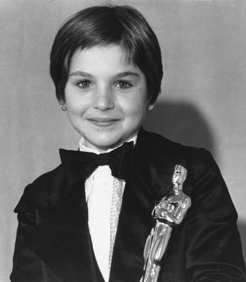 Tatum O'Neal at 10 years old
