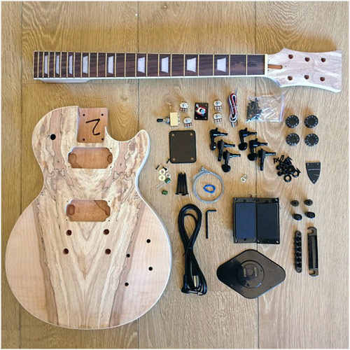 Blackbeard's Den Les Paul Copy DIY Guitar Kit