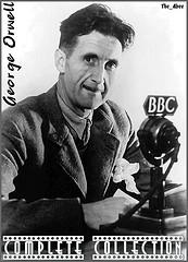 George Orwell on the radio at the BBC