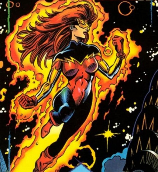 Firestar Costume Without Jacket
