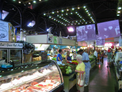 Shop at the world's continually operating farmer's market at the Central Market in Lancaster.