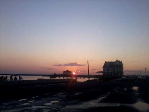 Another beautiful Sunset where I live at the shore.
