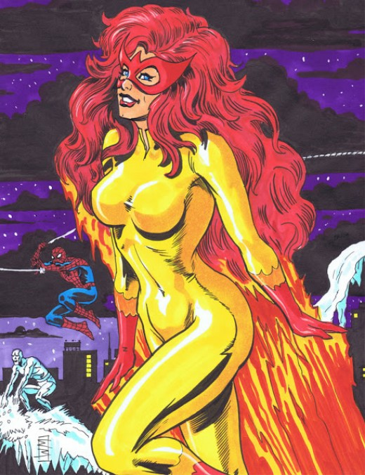 Firestar Original Costume