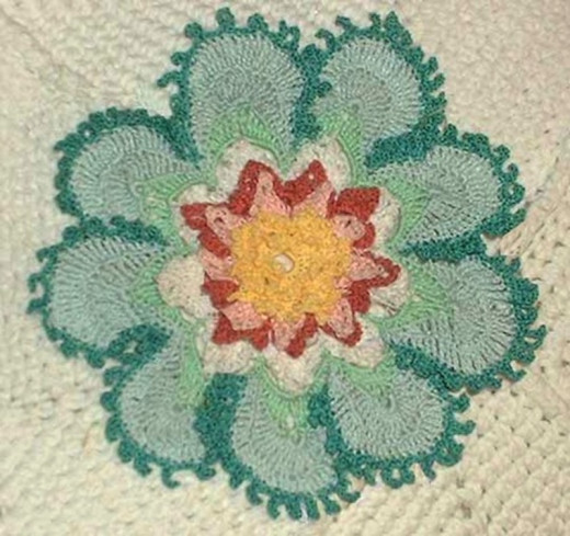 The Pond Lily Doily #1 - a favorite of my crochet fans!