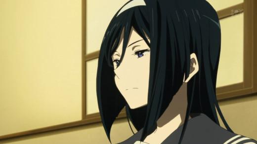 Fuyumi Irisu, a supporting character in Hyouka.