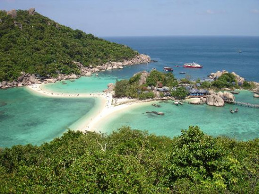 Koh Tao's (Southern Thailand) beaches