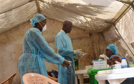 Health officials getting ready to treat Ebola patients