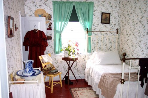 Image: Anne's Bedroom at Green Gables