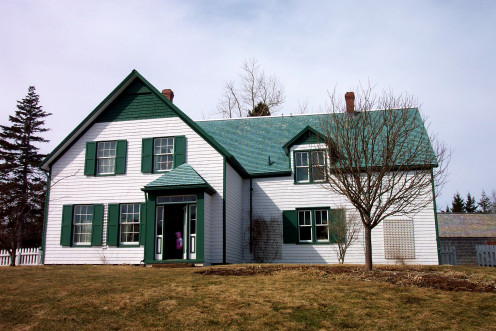 Green Gables house as it appears today.