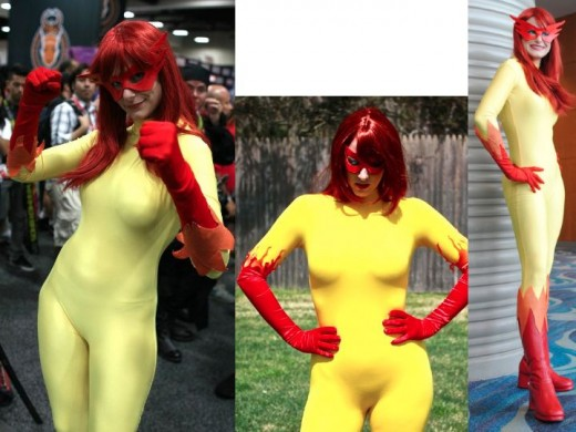 Original Firestar Cosplay Costumes
