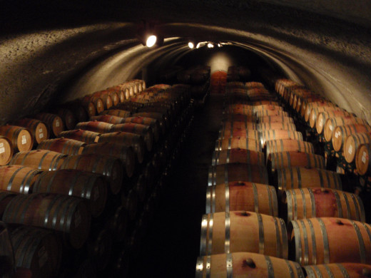 Ferrari-Carano wine caves