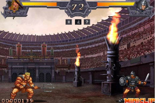 Gladiator Arena game screenshoot