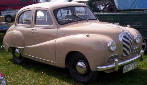 Austin A40 Somerset 1952
