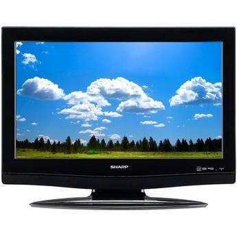 "Sharp LC-26DV27UT 26"" LCD TV with DVD Player"