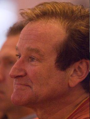 Robin Williams listening at Google