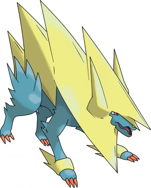 Mega Manectric by theangryaron on deviantart