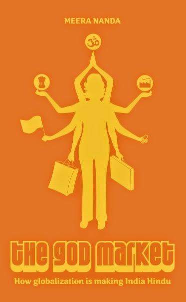 Cover of Meera Nanda's book The God Market