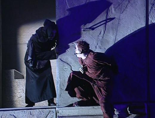 Daniel Lavoie as Frollo & Garou as Quasimodo