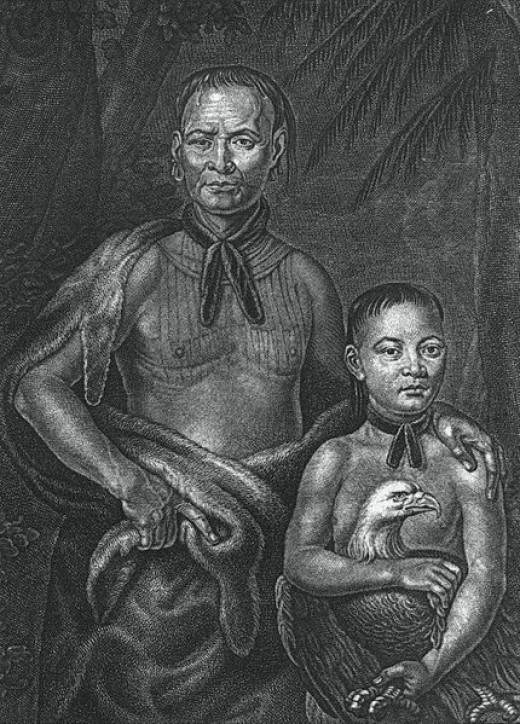 Tomochichi and Nephew