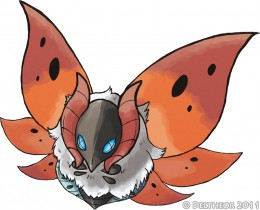 Volcarona by Deltheor