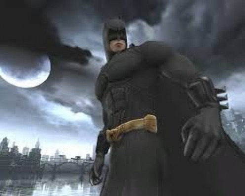 Batman Begins for the Nintendo GameCube follows the film with some new added parts for the game. Batman Begins was a popular movie and video game.