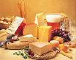 All kinds of cheese