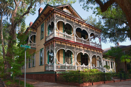 Savannah´s Preserved Historic Distric