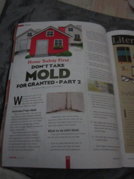 Part 2 of my column on molds