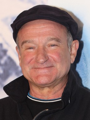 Robin Williams at the Happy Feet Premiere