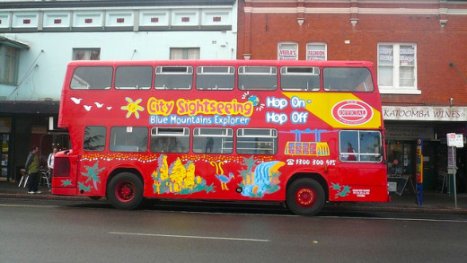 The Blue Mountains Explorer bus