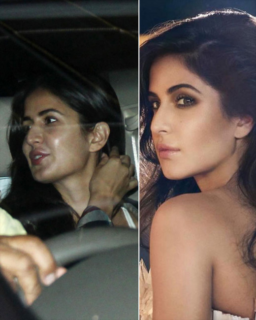 Our photogs spotted the beautiful diva, Katrina Kaif, outside a dubbing studio in Mumbai. Looking at the pictures we couldn't help but wonder why her lips looked a tad swollen. View pics on Biscoot Showtym.