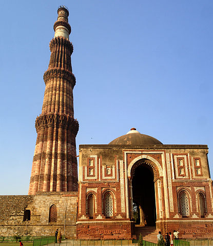 """Qutab Minar mausoleum"" by This Image was created by User:PlaneMad.If you are using the image under the creative commons share alike license please credit the photo CC-by-sa PlaneMad/Wikimedia and include a link to this page. No explicit permission i"