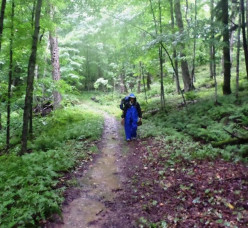 a portage trail