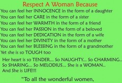 Respecting Every Woman