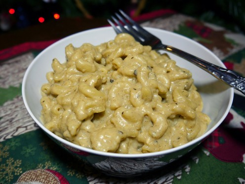 "Vegan ""cheese"" sauces are often created using nutritional yeast."