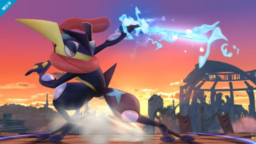 Greninja, the Ninja Pokemon