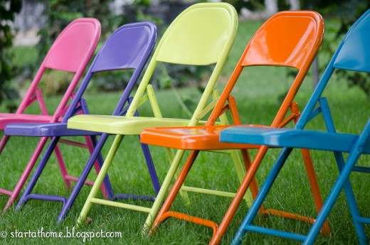 Old chairs for terrace/garden